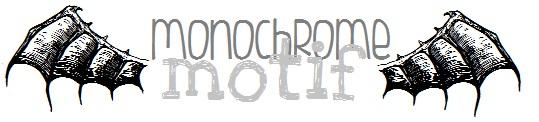 monochrome motif