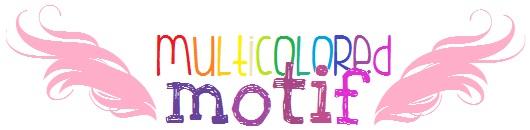 multicolored motif